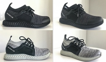Bisca360, the world's first 360° breathable waterproof 3D printed shoes