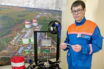 Сотрудники Затонской ТЭЦ напечатали визоры для врачей уфимских больниц