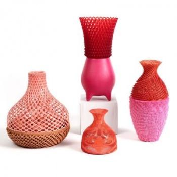 Студия Emerging Objects совместила 3D-печать и традиционные красители