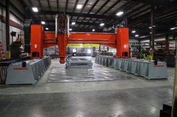 Thermwood создала 51-тонную металлобрабатывающую систему для производства гигантских 3D-принтеров LSAM