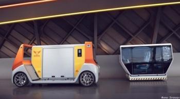 3D-печатный концепт беспилотного модульного электромобиля MetroSnap