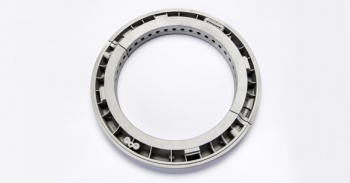 An oil sealing ring for an industrial steam turbine, designed and produced by Siemens using metal AM