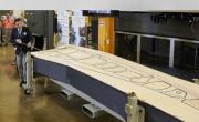 Изготовление самой большой детали оснастки для самолета с помощью объемной печати