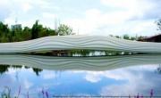 мост с двадцатиметровой 3D-печатной секцией из полимерного композита