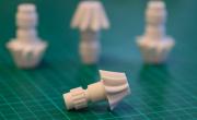 A set of 3D printed gears produced using Liqcreate's Composite-X resin. Photo via Liqcreate.