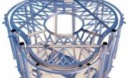 На 3D-принтере напечатали металлический пол для дома на Луне