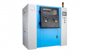 SFM-AT800 depowdering systems for cleaning metal parts of 500 x 500 x 500 mm in size, and weighing up to 300 kg